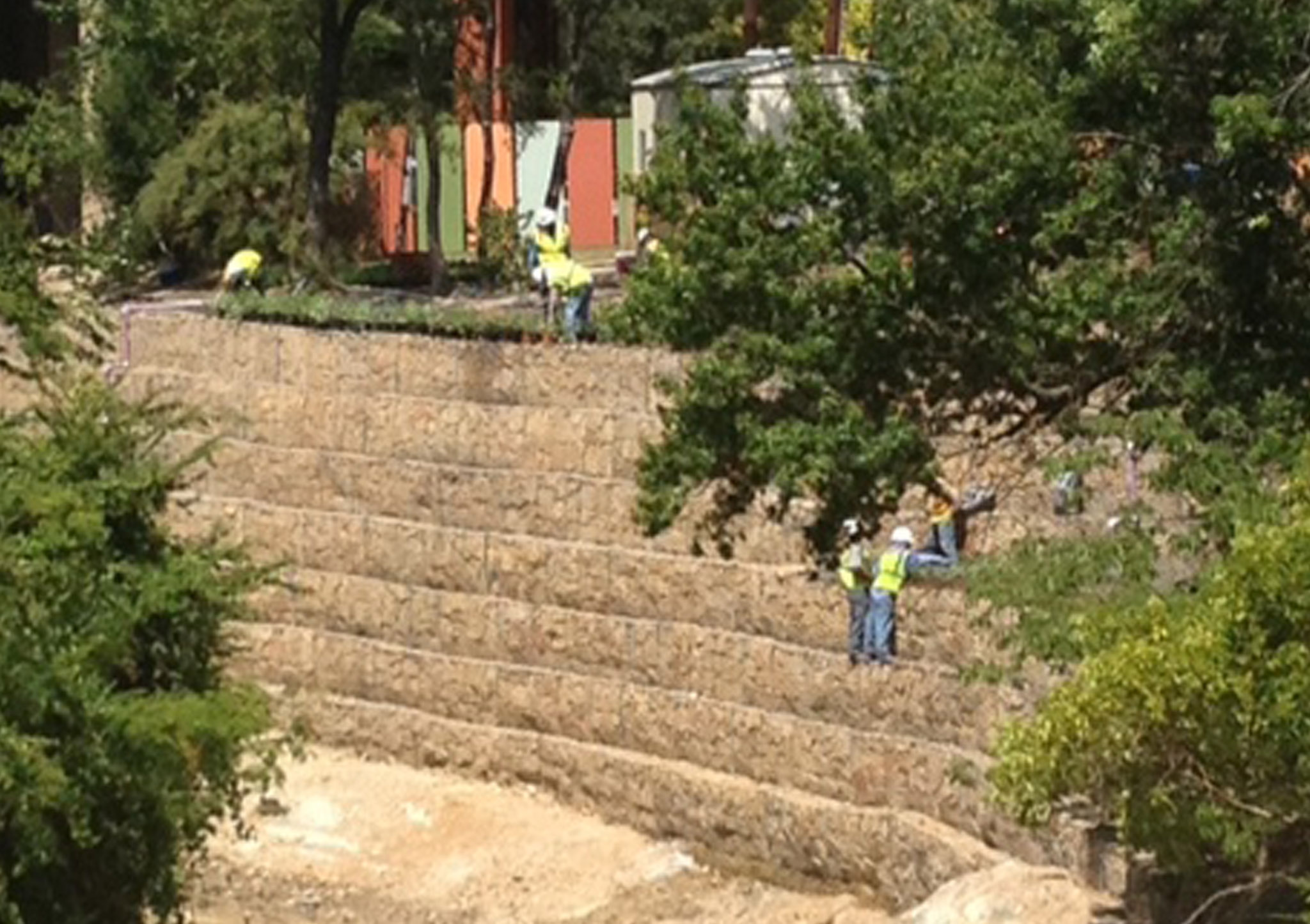 Erosion Control by Green Scaping