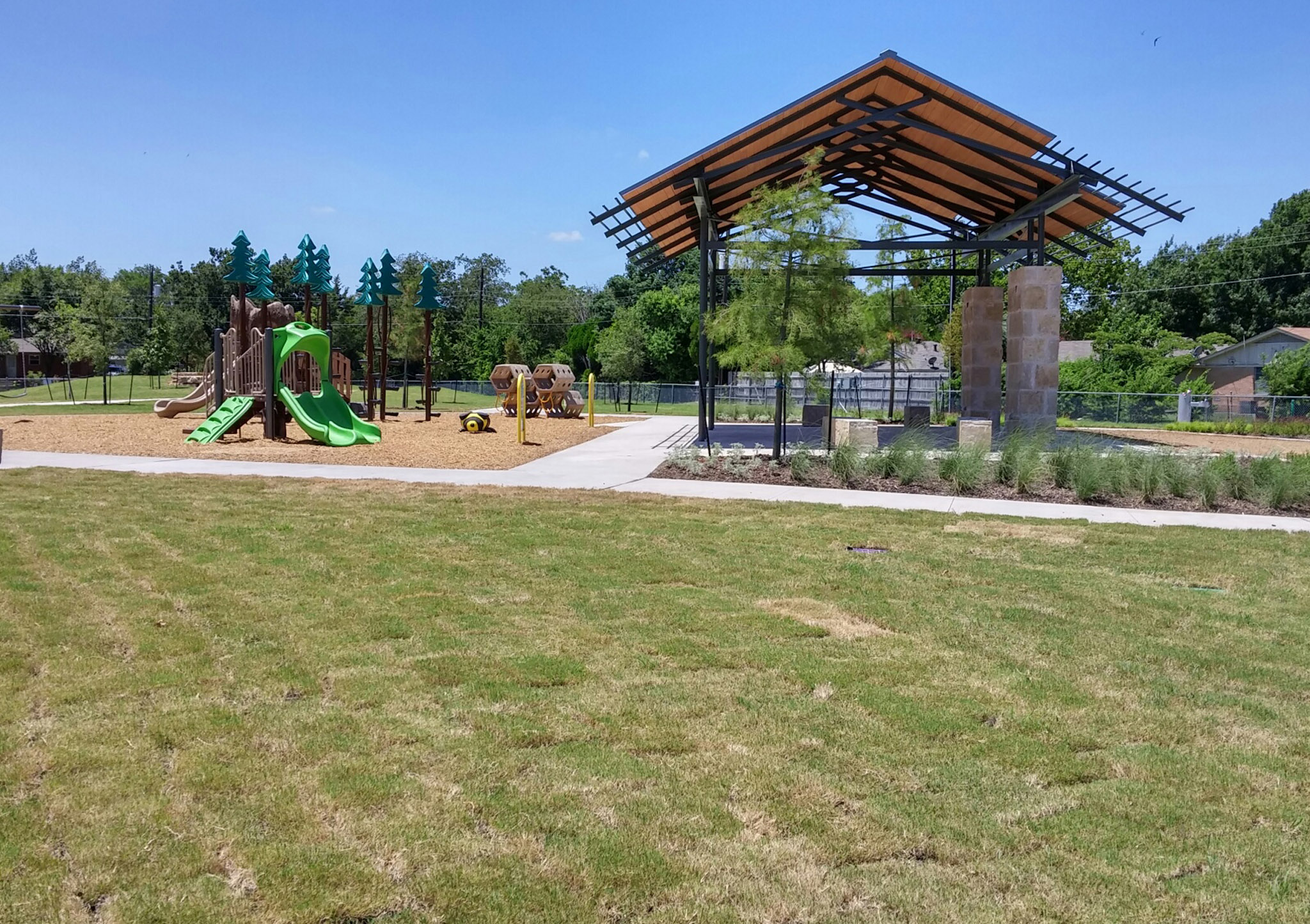Park Construction - GreenScaping